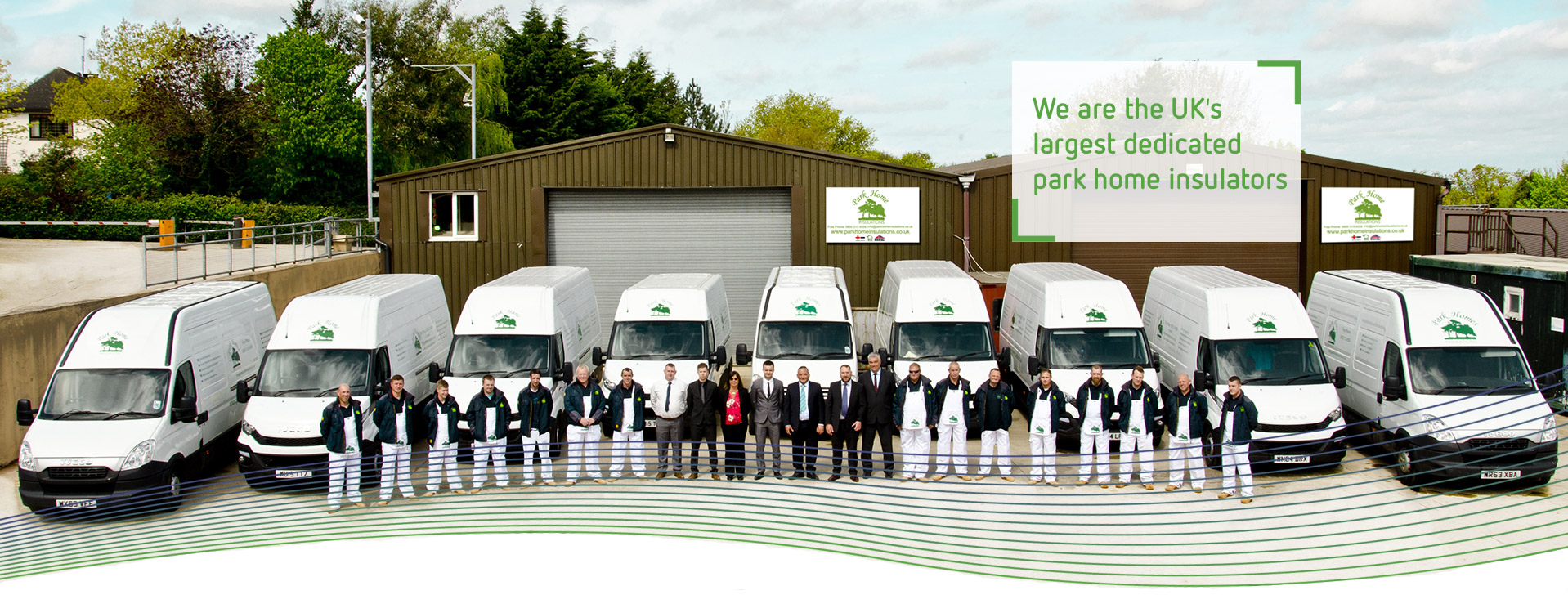 Park Home Insulations - the UK's largest dedicated park home insulators